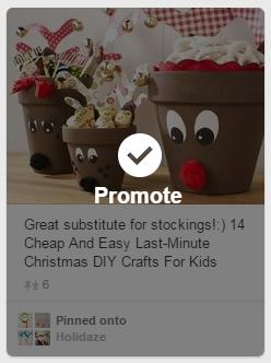 Promote Pin Pinterest
