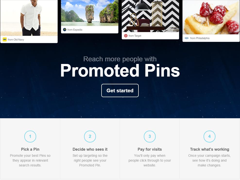 Promote Pins Pinterest Ads